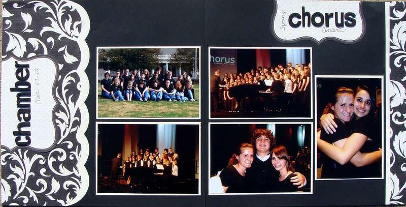 Chamber choir - spring chorus concert