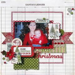 First Christmas *My Creative Scrapbook*