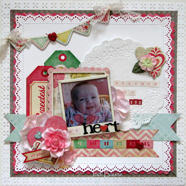 My Heart Belongs to You *My Creative Scrapbook*