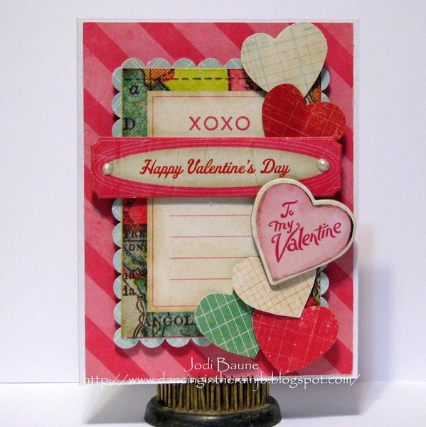To My Valentine *My Creative Scrapbook*
