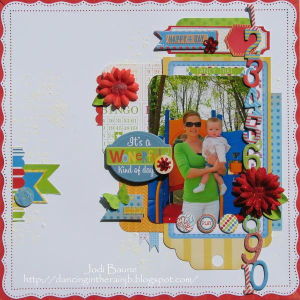 Its a Wonderful Day *My Creative Scrapbook*