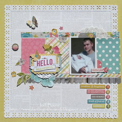 Hello Beautiful *My Creative Scrapbook*