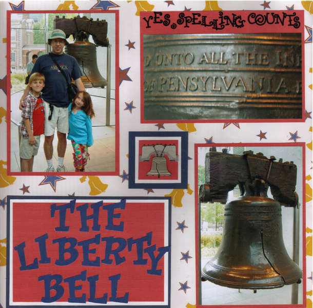 The Liberty Bell (right)
