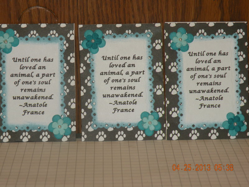 ATC Swap (Quotes/Poems)