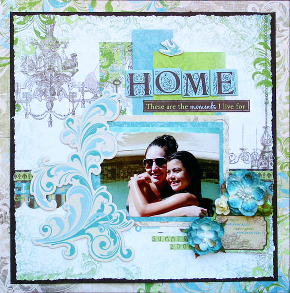 """Home"" GDT for My Creative Scrapbook"