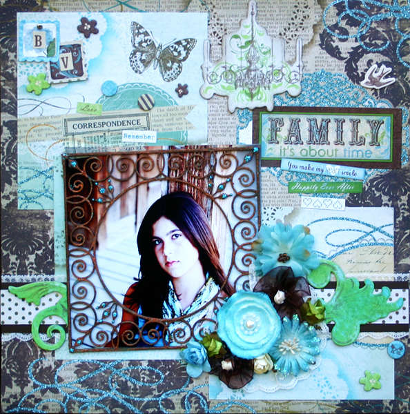"""Family"" My Creative Scrapbook"