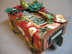 12 Days of Christmas Matchbox with Accordion Album - Graphic 45