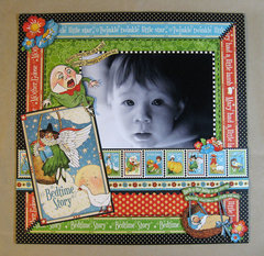 12 x 12 Mother Goose Layout