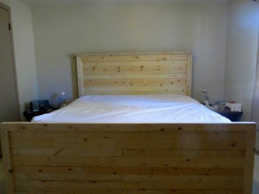 November POD 3  Newly Built Bed