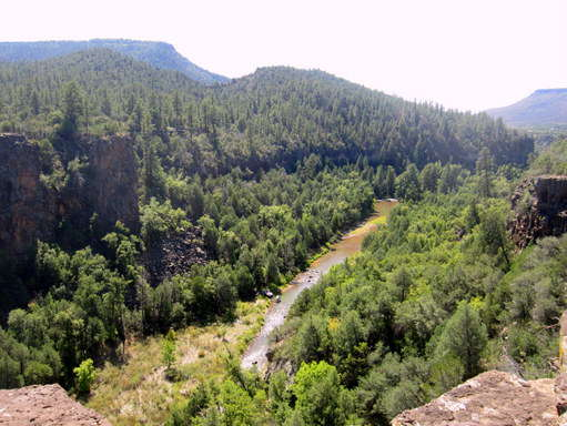 September POD 6 Whiteriver Gorge