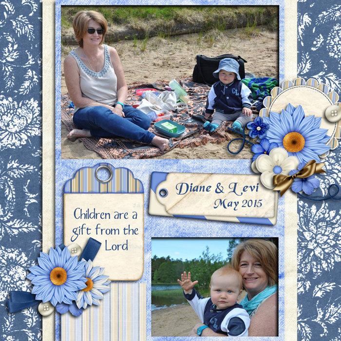 Diane & Levi - May 2015