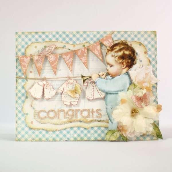 Congrats Card  *Graphic 45*