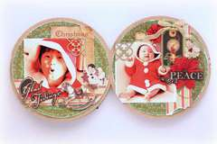 Christmas Emporium minibook - inside 2 - *Graphic 45*