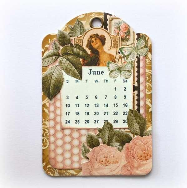 2012 calendar - inside *Graphic 45*