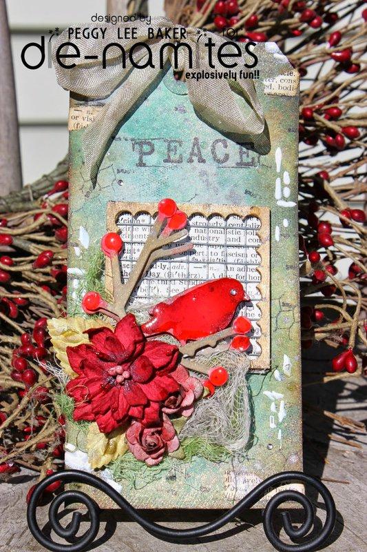 """""""Bullfinch Tag"""" Die~Namites Dies & Tutorial"""