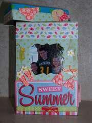 Sweet Summer Photo Recipe Box