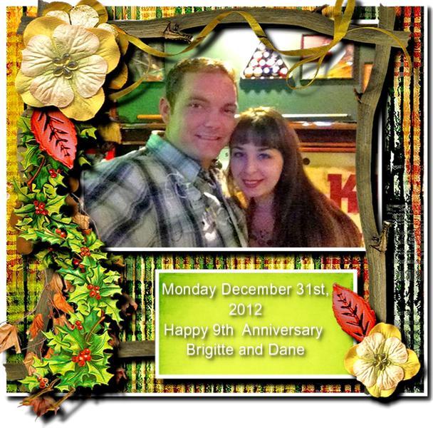 9th Anniversary Brigitte and Dane