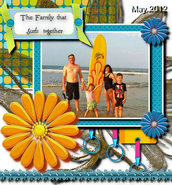 The Family That Surfs Together