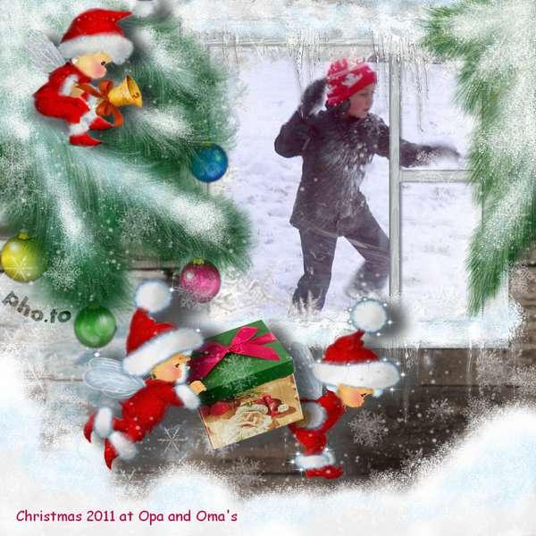 "Christmas 2011 at Oma and Opa""s"
