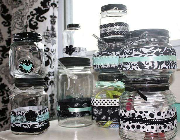 Decorative Jars for Embellishments