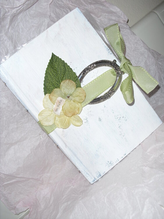 Altered Book {mother's day gift}