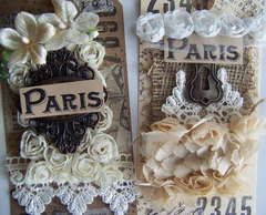 Paris Inspired Tags