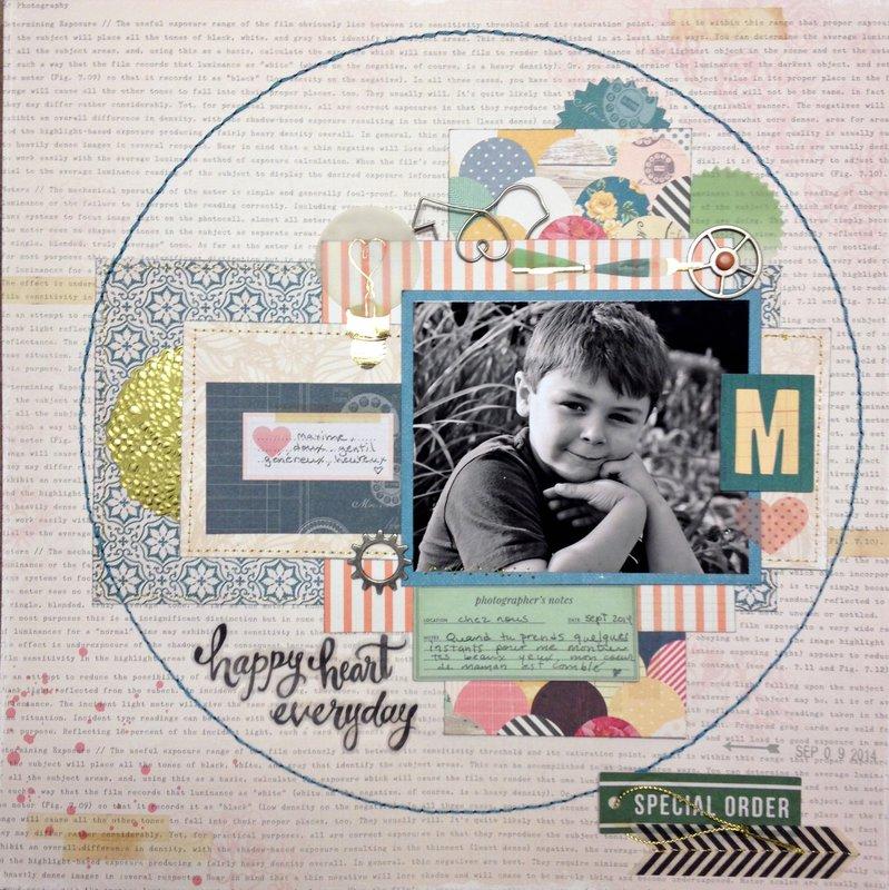 Happy Heart Everyday- My Creative Scrapbook Guest DT