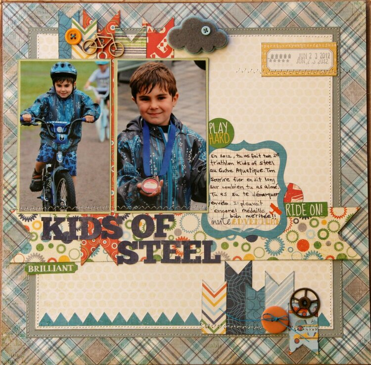 Kids of Steel