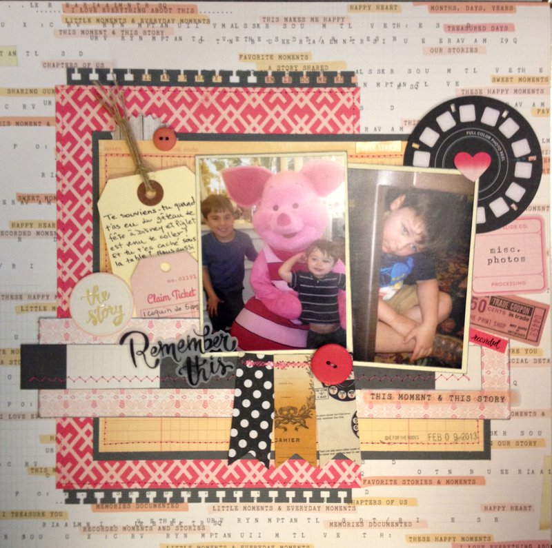 Remember this-My Creative Scrapbook