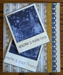 Rare Find/Cool Friend Card