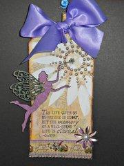 spring Fairy tag