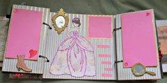 Last page of Louise's doll mini album