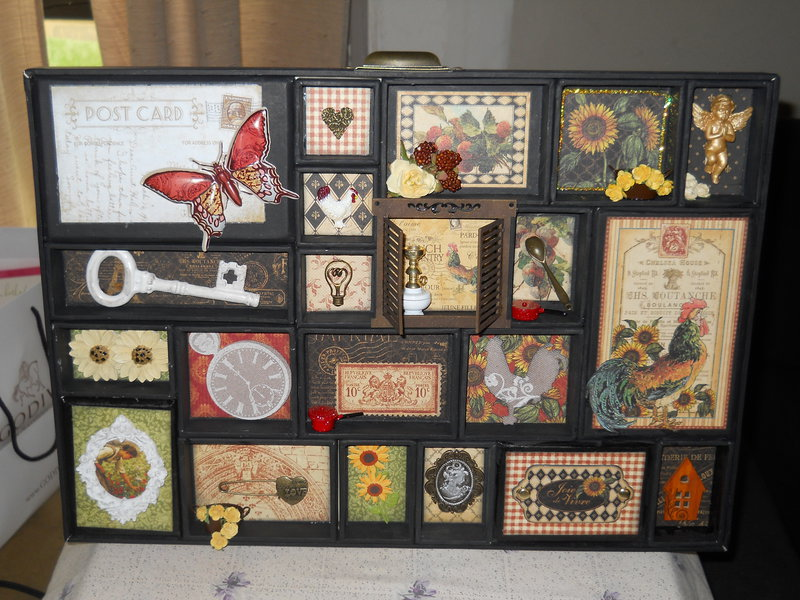 Graphic 45 french country configuration tray