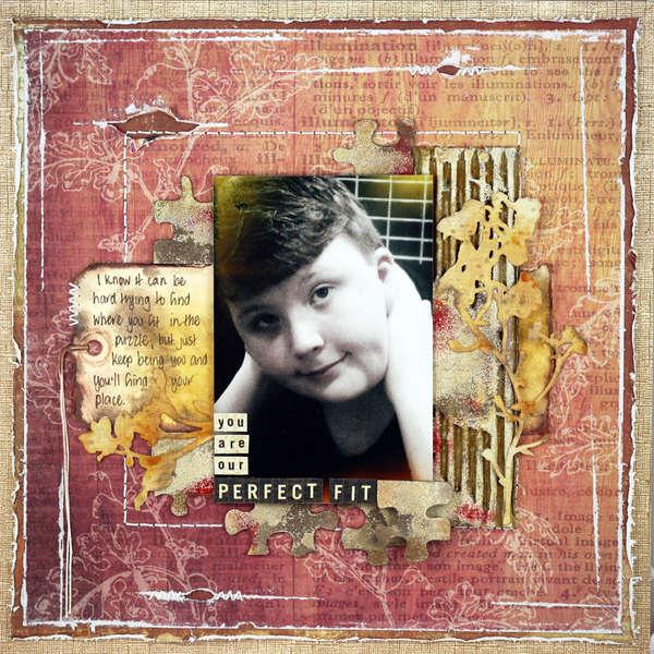 Perfect Fit - Donna Salazar Designs