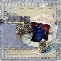 Jeans - Donna Salazar Designs