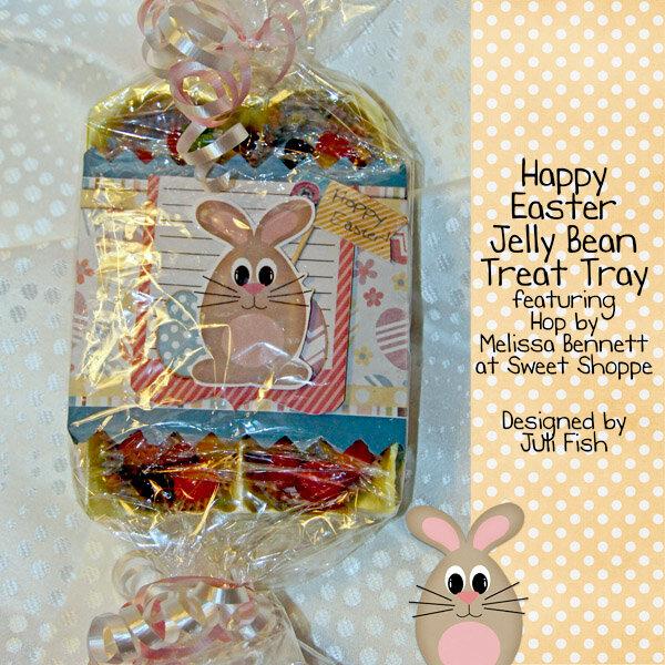 Happy Easter Jelly Bean Tray