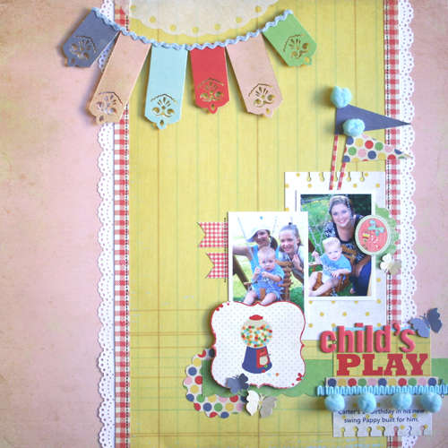 """Child's Play """"New Fancy Pants CHILDISH THINGS Collection"""""""