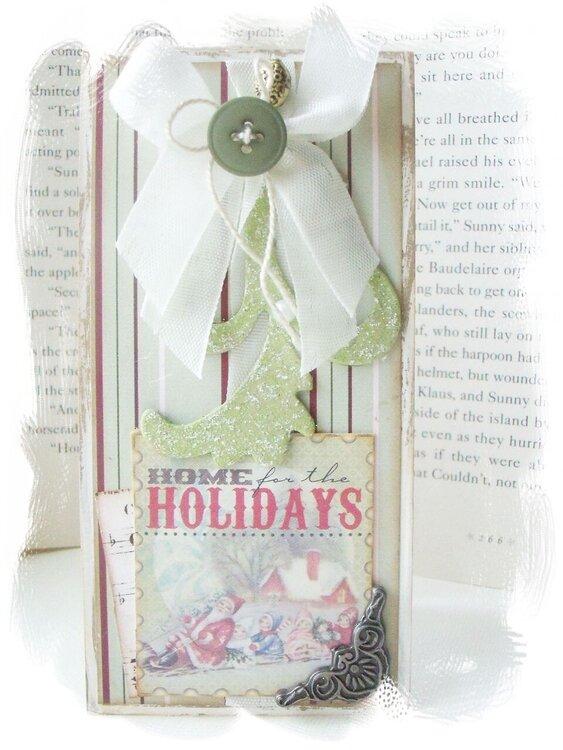 Home for the Holidays Christmas Card