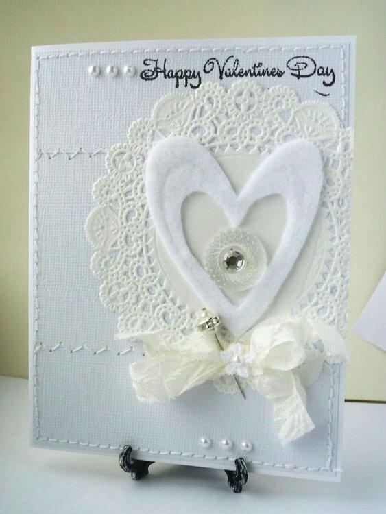 Wonderful White Valentine's Day
