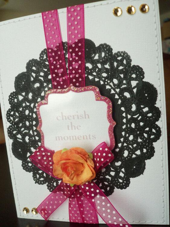 Cherish the Moments Card