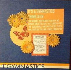It's a gymnastics thing: #28