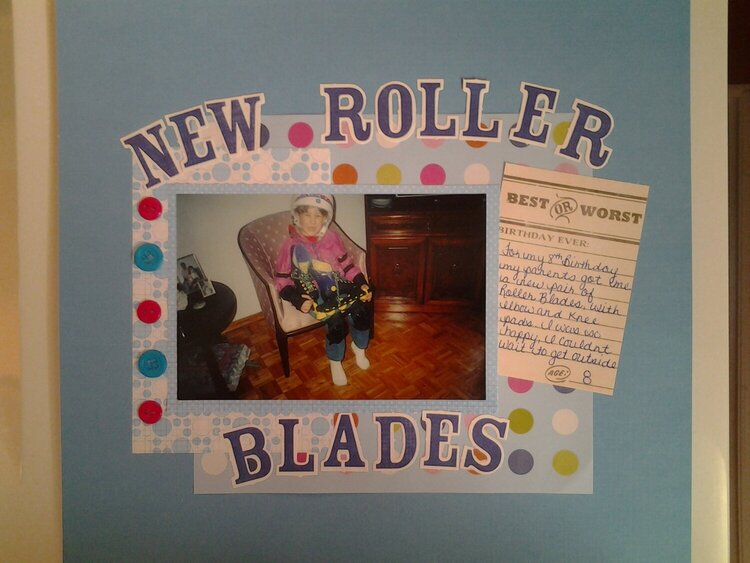 New Roller Blades