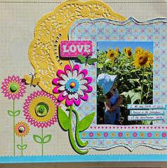 Sunflower Love *Best Creation Inc.*