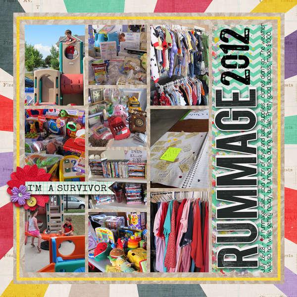rummage sale 2012