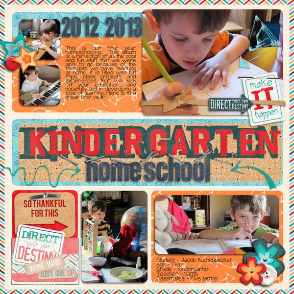 school yearbook cover