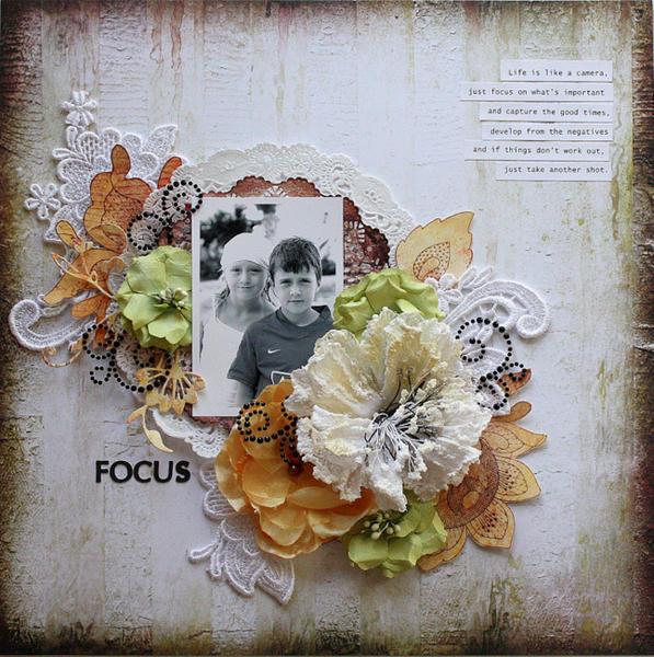 Focus *C'est Magnifique Kit Club*