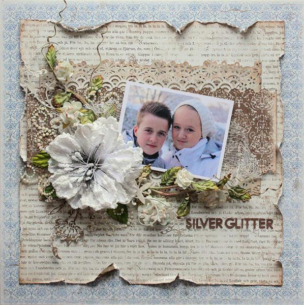 Silver Glitter *Maja Design*