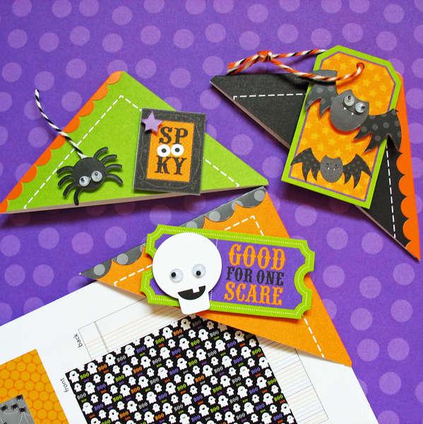Spooky Bookmarks - Doodlebug
