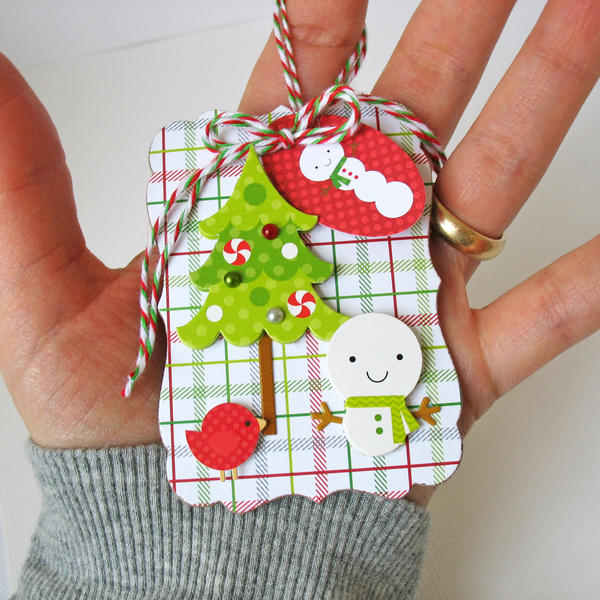 North Pole Ornament - Doodlebug