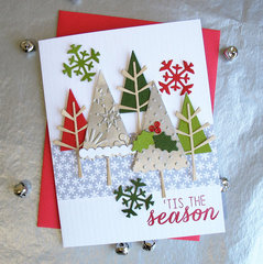 'Tis the Season - Reverse Confetti